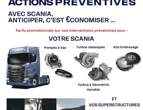 C'est l'été, pensez à vos actions préventives sur votre véhicule Scania