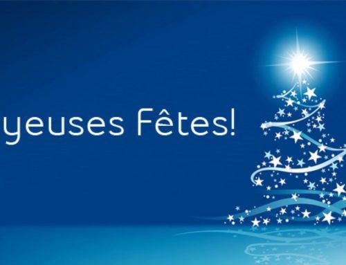 Toute notre équipe vous souhaite un Joyeux Noel !